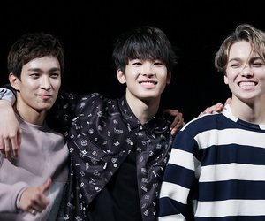 DK, Seventeen, and hansol image