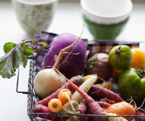 vegetables and food image