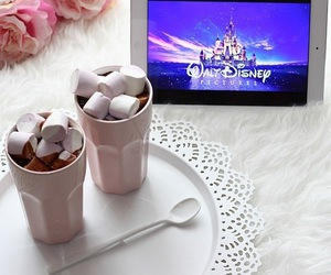 disney, marshmallow, and food image
