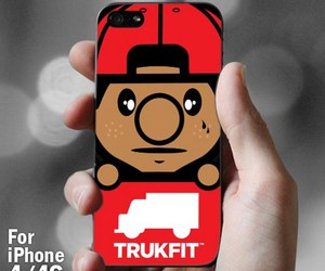 trukfit, iphone 4 4s, and case image