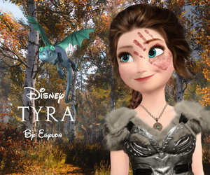 anna, dragon, and frozen image