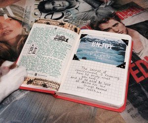 agenda, book, and scrapbooking image