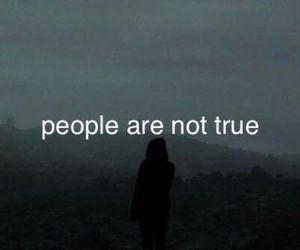people, sad, and alone image