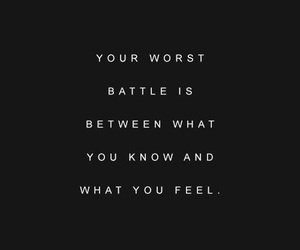 quotes, battle, and life image