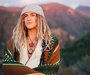 dreadlocks, hippie, and man image