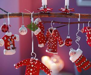 christmas, red, and xmas image
