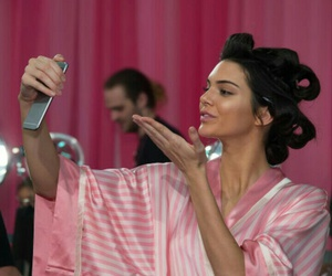 kendall jenner and pink image