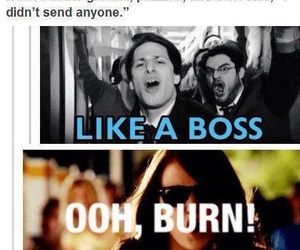 jk rowling, harry potter, and like a boss image