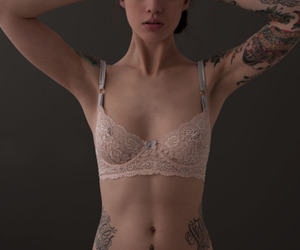 tattoo, girl, and model image