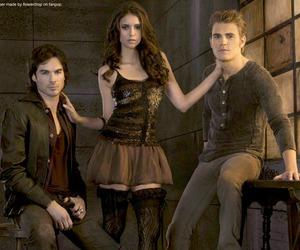 the vampire diaries, tvd, and Nina Dobrev image
