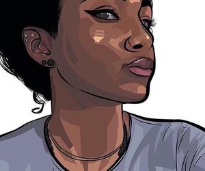 beauty and blackwoman image