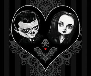 addams family, etsy, and frankenstien image