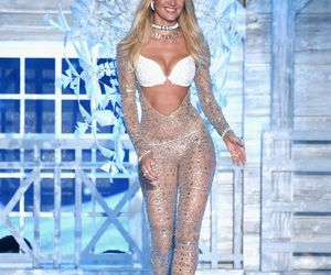 catwalk, wings, and candice swanepoel image