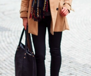 fall, outfit, and rome image