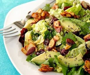 salad and healthy image