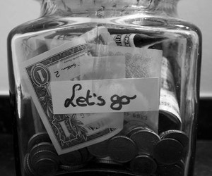 money, travel, and let's go image