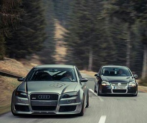 audi, cars, and volkswagen image