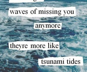 quotes, ed sheeran, and waves image