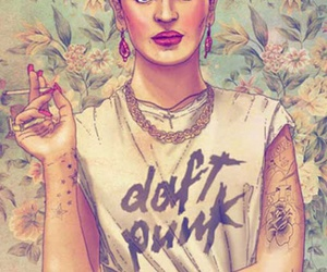 Frida, frida kahlo, and daft punk image