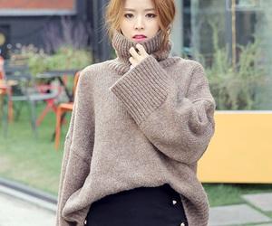 asian fashion, fashion, and oversized sweater image