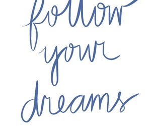 blue, calligraphy, and dreams image
