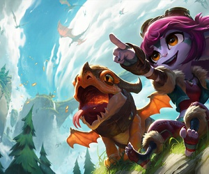 league of legends, lol, and tristana image
