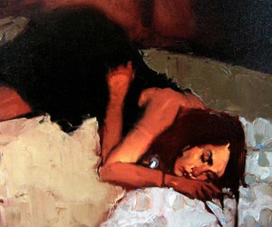 art, painting, and michael carson image