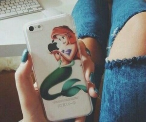 iphone, ariel, and apple image