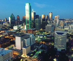 Dallas and downtown image
