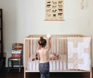 baby, home, and toddler image