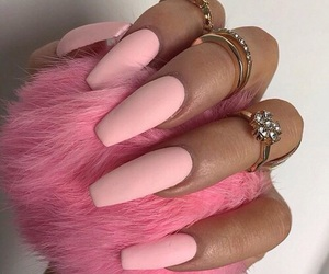 girls, nails, and princess image