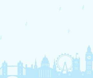 Big Ben, city, and ferris wheel image