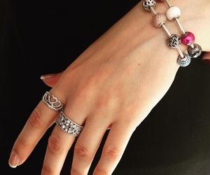 bracelet, chic, and pandora image