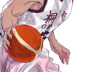 Basketball, kuroko no basket, and aomine image