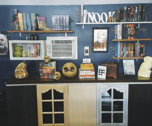 harry potter, nook, and pretty image