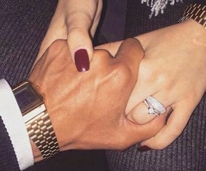 couple, love, and ring image