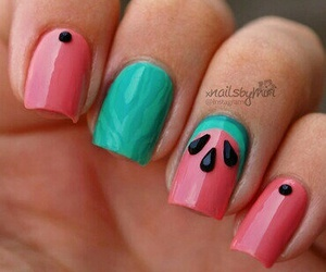 watermelon and nails image