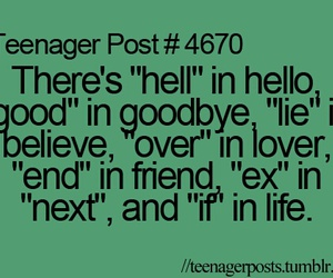 teenager post, life, and quotes image