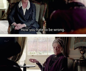 funny, maggie smith, and downton abbey image