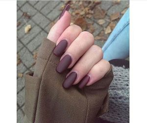 autumn, cold, and nails image