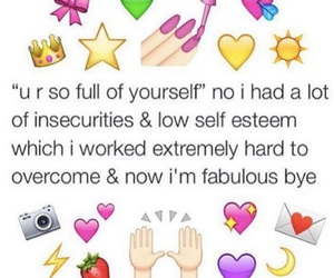 fabulous, quotes, and self esteem image