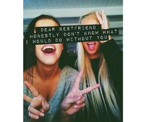 girls, quote, and friends image
