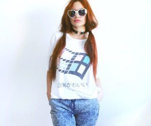 choker, cool, and ginger image