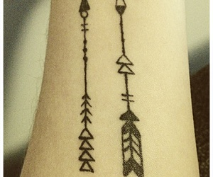 arrows, ink, and tatto image