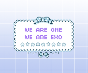exo, header, and kpop image