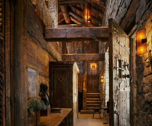 wood, home, and medieval image