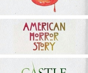 castle, american horror story, and the vampire diaries image