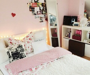 beautiful, bedroom, and girl image