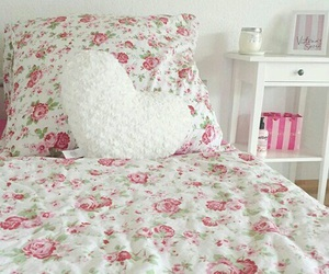 flowers, bed, and inspiration image