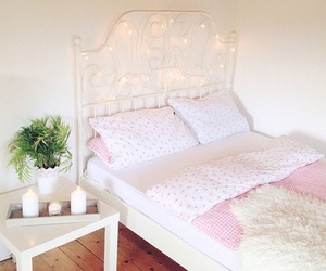 room, bed, and decor image